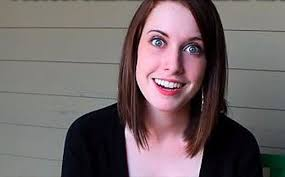Overly Attached Girlfriend Meme Generator - overly attached girlfriend smile blank template imgflip