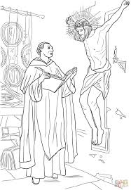 st thomas aquinas coloring page catholic coloring sheets