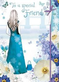 cards for friends to a special friend birthday card karenza paperie