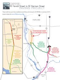 Portland Oregon County Map by Oregon Department Of Transportation Project Details Projects