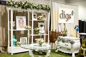 wedding expo backdrop trade show inspiration layers of lovely vintage