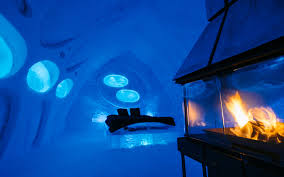 hotel de glace hotels travel leisure