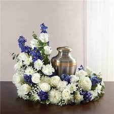 cremation san antonio 1 800 flowers cremation wreath blue and white 1 800 flowers san