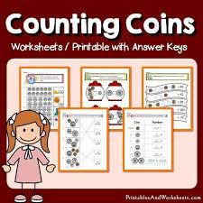 counting coins worksheets printables u0026 worksheets