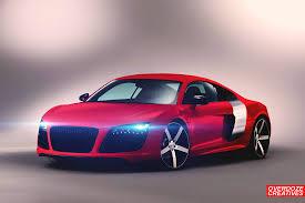 Audi R8 Red - audi r8 red velvet by overdozecreatives on deviantart