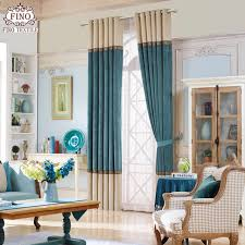 Teal Window Curtains Modern Solid Window Curtains For Living Room Teal Curtain Fabric