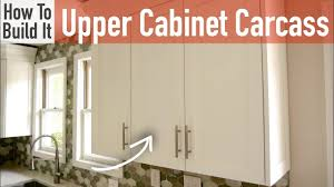 how to build european style cabinets diy 30in 15in cabinet carcasses frameless