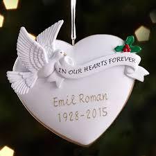 season memorial ornaments personalized home