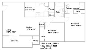 two bedroom apartment floor plans sq ft apartment floor plan modern stratford 2x2 plans 1300 charvoo