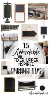 Chalkboard Home Decor by 15 Affordable Fixer Upper Inspired Chalkboard Items At Home With