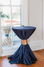 Navy Table L Navy And Pink Wedding By Viva L Event Navy Gold And Wedding
