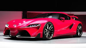 sporty toyota cars toyota hints of future with ft 1 sports car concept