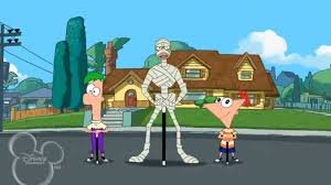 Phineas And Ferb Backyard Beach Game My Undead Mummy Phineas And Ferb Wiki Fandom Powered By Wikia