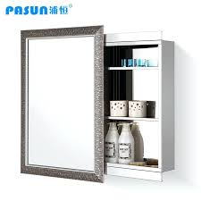 Sliding Bathroom Mirror Bathroom Mirror With Cabinet India Cabinets Sliding Doors White