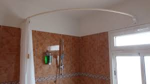 Corner Shower Curtain Curved Shower Rod