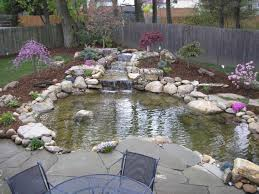 Backyard Pond Ideas With Waterfall Small Backyard Ponds And Waterfalls Niavisdesign