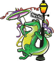 mardi gras alligator flos place restaurant bar a family owned restaurant serving