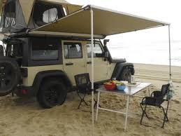 Car Tailgate Awning Front Runner Easy Out Awning 2m