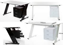 White Desk Glass Top 7 Best שולחנות מחשב פינות עבודה Images On Pinterest Desk And