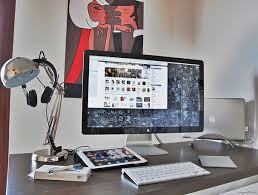 home design desktop modern workspace desktop design