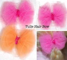 tulle hair bows 34 best hair accessories images on crowns hairbows