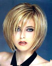 haircuts for plus size faces pictures on short hairstyles for round faces plus size cute