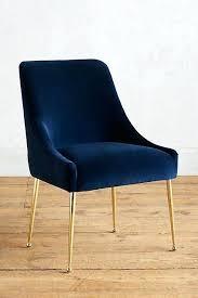 blue dining chairs navy velvet design ideas 15 insightsplashcom