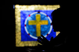 Blue Flag Yellow Cross When Is Lent 2017 Annual 40 Day Fast Begins On Ash Wednesday