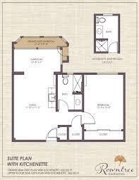 in suite floor plans living options rowntree senior apartments suites cottages