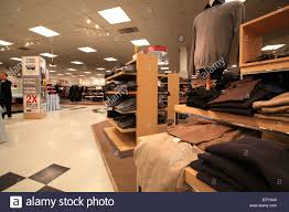 sears furniture kitchener clothes for sale in sears store in kitchener on canada stock photo