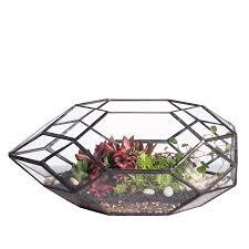 amazon com large handmade irregular polyhedral geometric glass