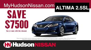 nissan altima for sale charleston sc nissan now event at hudson nissan youtube