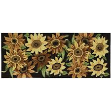 Nourison Kitchen Rugs Nourison Sunflower Utility Runner Rug