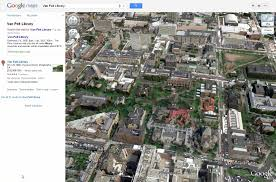 Upenn Campus Map Google Maps Vs Bing Maps Pennwic