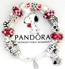 ebay jewelry silver charm bracelet images Authentic pandora silver charm bracelet european charms red white jpg