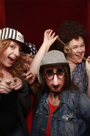 photo booth rentals surprise 60th birthday summer kick off party