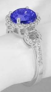 tanzanite engagement ring tanzanite engagement ring with matching wedding