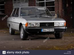 peugeot cars 1980 peugeot 604 french classic car early 80s model stock photo