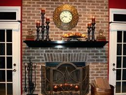 decor for fireplace decorating ideas for nonworking fireplace design living room