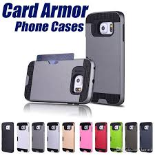 card holder neo hybrid armor back cover for samsung galaxy