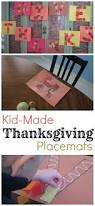 thanksgiving placemat for kids kid made thanksgiving placemats