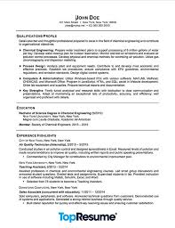Sample Resume For Chemical Engineer by Recent Graduate Resume Resume Sample Professional Resume