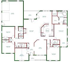 simple 1 house plans one level living floor plans simple 1 floor house plans one level