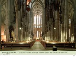 Cologne Cathedral Interior Chapter 13 Gothic Europe