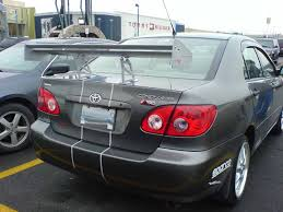 honda ricer wing fastest corolla i u0027ve ever laid my eyes on 8th generation honda