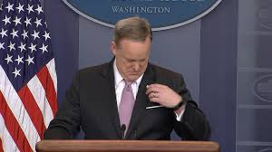 American Flag Upside Down Spicer Fixes His Upside Down American Flag Pin Nbc News