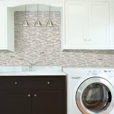 white tile kitchen backsplash tile backsplashes tile the home depot