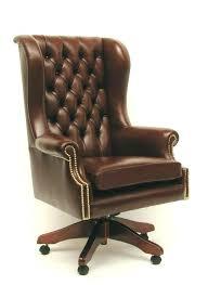 fauteuil de bureau cuir vintage fauteuil de bureau cuir marron siege acheter beraue