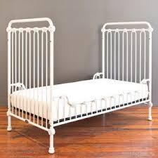 Metal Toddler Bed Joy Toddler Bed Kit Distressed White