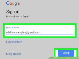 Login Gmail How To Recover Your Gmail Login Password Wikihow